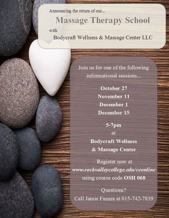 Massage Therapy School Info Sessions